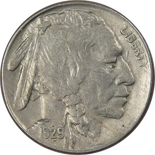 1929-S 5c Buffalo Nickel AU About Uncirculated