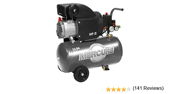 Mercure 425063 Compresor de Aire, 1500 W, 230 V, Gris: Amazon.es ...