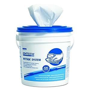 KIMBERLY-CLARK PROFESSIONAL KIMTECH PREP Limpiaparabrisas para el Sistema WETTASK, Quat desinfectantes y desinfectantes