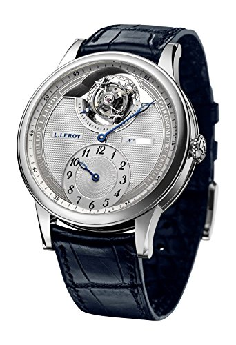 Leroy 18K WG Tourbillon Automatic Regulator Chronometer. LL104-1