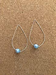 Silver Bead Earring