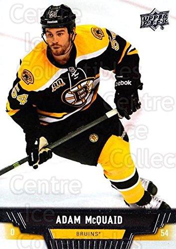 (CI) Adam McQuaid Hockey Card 2013-14 Upper Deck (base) 442 Adam McQuaid