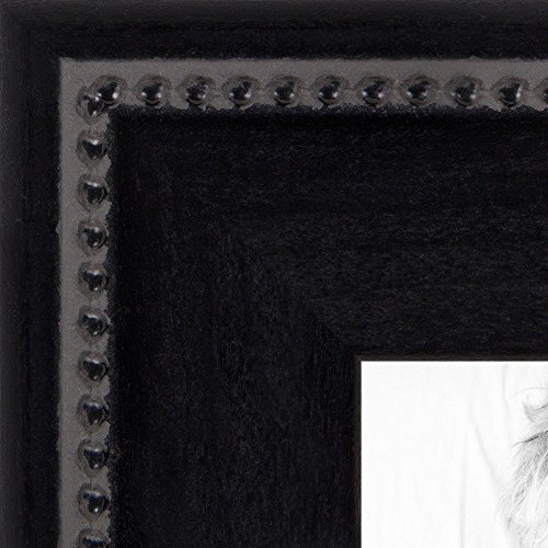 画像フレームマットブラックSlope with Beaded Top。。2