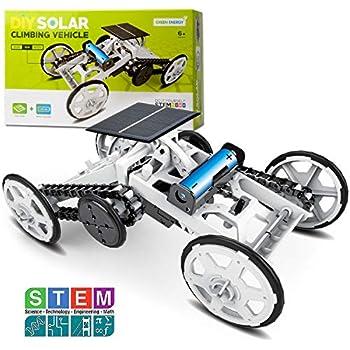 Amazon.com: Sillbird STEM 4WD Car DIY Climbing Vehicle Kit ...
