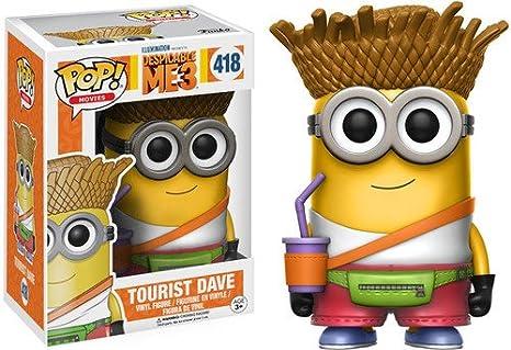 Funko - Dave Tourist figura de vinilo, colección de POP, seria Despicable Me 3 (13426)