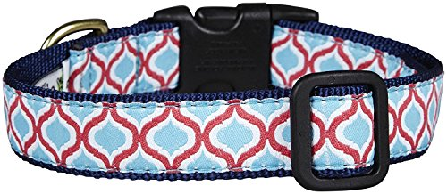 - Up Country Blue Kismet Dog Collar - Large