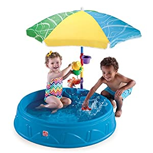 Step2 Deluxe Pack Includes Umbrella, Toys, & Accessories