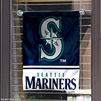 Seattle Mariners Double Sided Garden Flag