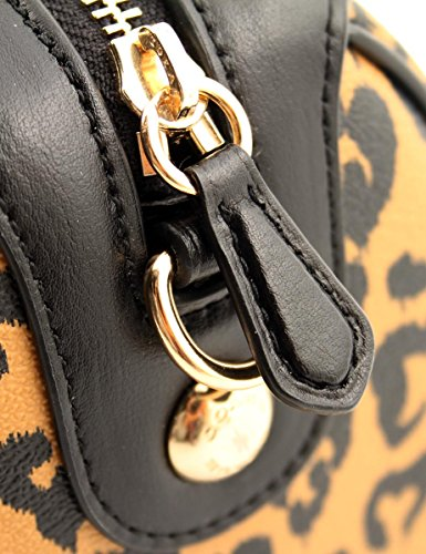 Heart Crossbody Print with Leopard Mini Wild Satchel COACH Bennett HnvxgaPZ