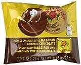 Mazapan cubierto de Chocolate (16 piezas) by de la Rosa