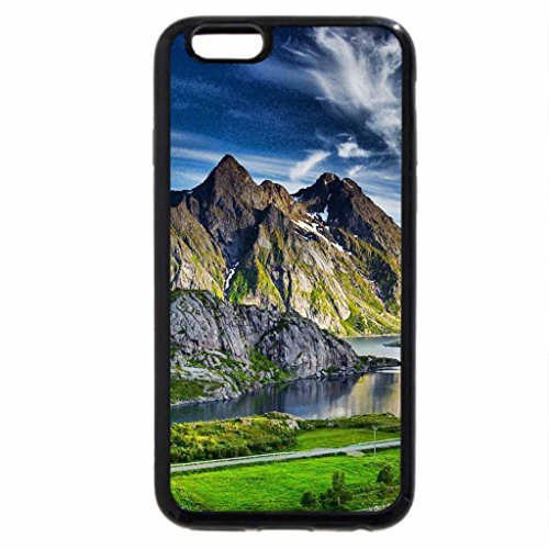 iPhone 6S / iPhone 6 Case (Black) view of a beautiful sea cove hdr