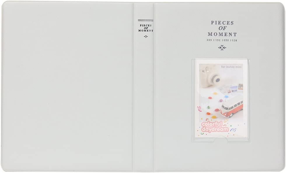 9 7s 25 26 50s 70 90 C/ámara Instant/ánea y Tarjeta de Nombre con 20 Pegatinas PCS Verde Lime Anter Ablus 64 Pockets Instax Mini /Álbum de Fotos para Fujifilm Instax Mini 8 8