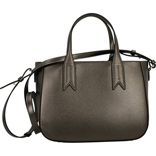 Logo Negro Emporio Mujer Handbag Armani Eagle Metálico UBB1wTqx