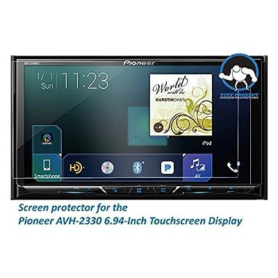 Tuff Protect Crystal Clear Screen Protectors Pioneer AVH-2330nex Car-Indash Player