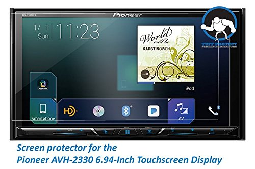 Tuff Protect Anti-Glare Screen Protectors for Pioneer AVH-2330nex Car Indash DVD Receiver
