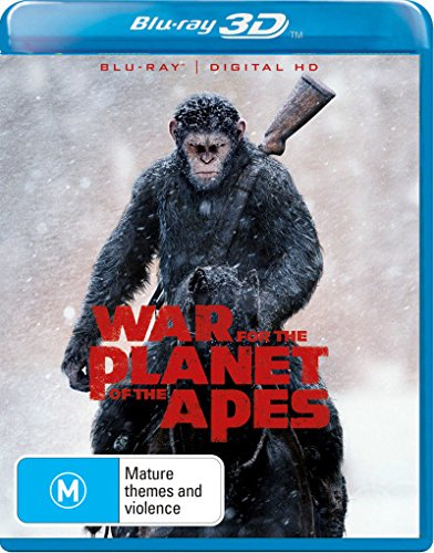 War for the Planet of the Apes 3D Blu-ray | NON-USA Format | Region B Import – Australia