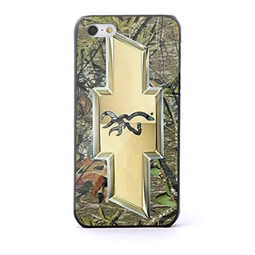Chevy Logo with a Deer on the Inside for Iphone and Samsung Galaxy (iPhone 5/5s black)