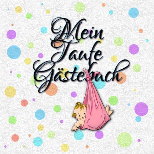 Amazoncom Mein Taufe Gästebuch Erinnerungsalbum Und