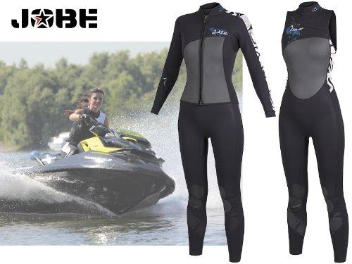 JOBE(ジョベ) ウェットスーツ&ジャケット レディロングジャケットセット B00K2O2HF0  XS