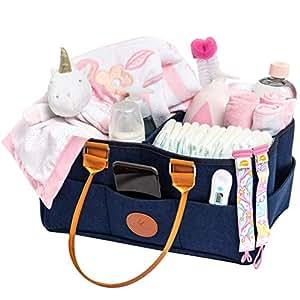 Amazon.com: Organizador de pañales para bebés y guardería ...