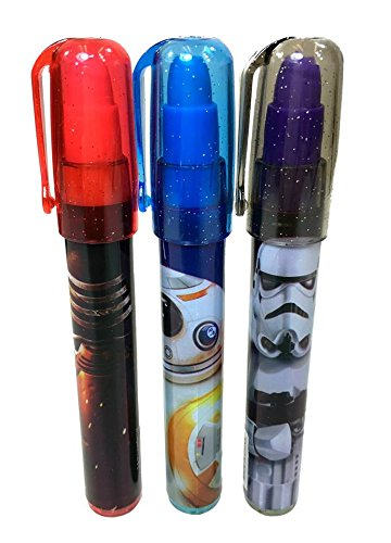 Disney Star Wars Pop Up Eraser 3 Assorted Design 36 Pieces (Complete Box) by Disney (Image #3)