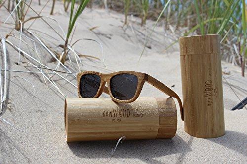 Lunettes Polarisées De Bambou RawWood Originals Smoke En Soleil Natural Bois pS5xRCwnqv