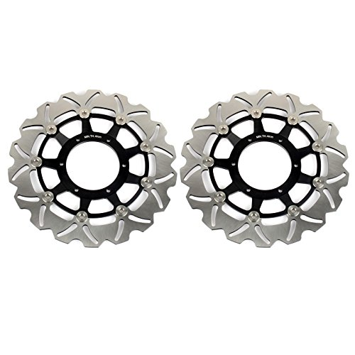 TARAZON Front Brake Rotors for Honda CBR600F4i Supersport F4i PC35 2001-2007 CB F 900 Hornet