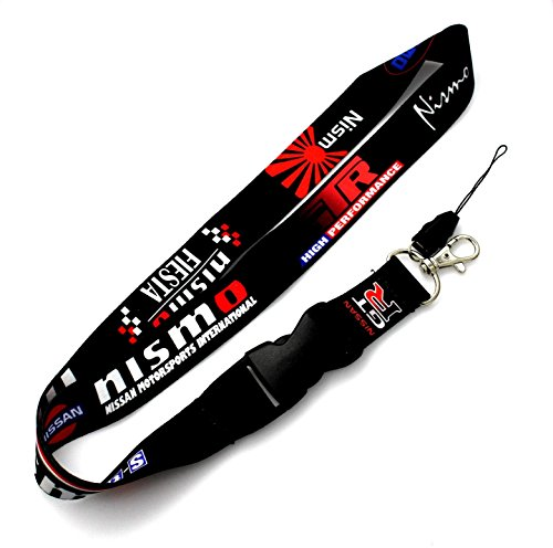 for-nissan-nismo-gt-r-lanyard-neck-cell-phone-key-chain-strap-quick-release-jdm