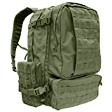 3-Days Assault Back Pack – Color: OD Green, Outdoor Stuffs
