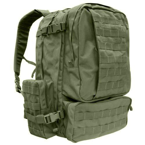 3-Days Assault Back Pack – Color: OD Green, Outdoor Stuffs