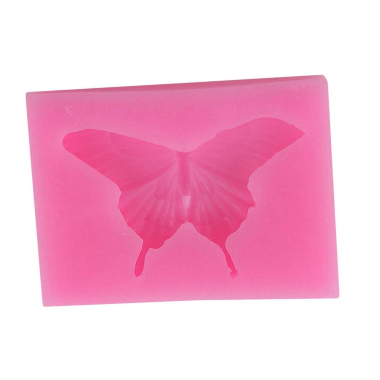 Ogquaton Papillon Premium Silicone Moule 3D Artisanat De Mariage Moules À La Main Chocolat Fondant De Décoration De Gâteau Outils