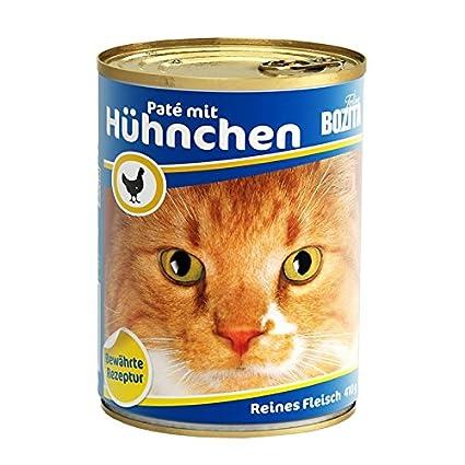 bozita Cat con Gallina 410 G Lata de gato húmedo Forro 97% Carne