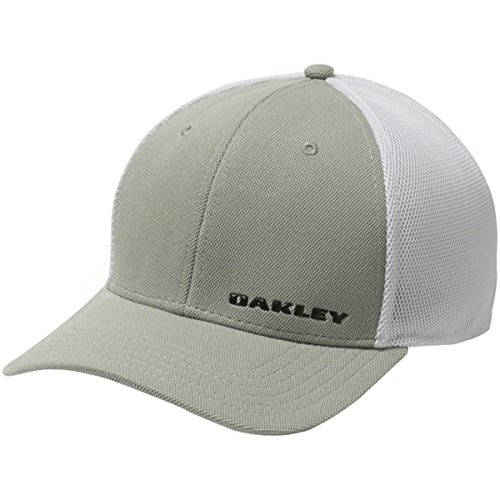Oakley Men's 4.0 Silicon Bark Trucker, Grey, Large/X-Large for sale  Delivered anywhere in USA