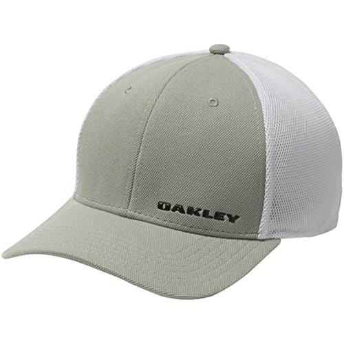 Oakley Men's 4.0 Silicon Bark Trucker, Grey, - Golfers Oakley
