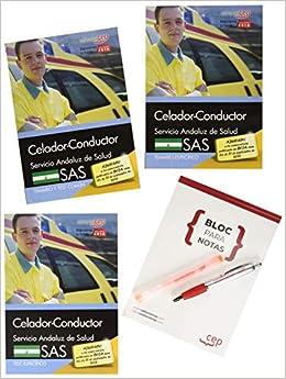 Pack de libros. Celador-Conductor. Servicio Andaluz de Salud SAS: Amazon.es: Editorial CEP: Libros