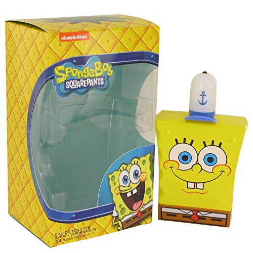Nickelodeon Spongebob Squarepants Eau De Toilette Spray, 3.4 -