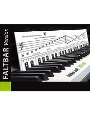 Pianospellen leren met plezier en plezier - en plotseling zijn de pianotoetsen je vrienden! Opvouwbare versie!