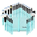 Best Makeup Brush Sets - Makeup Brushes Set, 32pcs Blue Premium Cosmetic Make Review