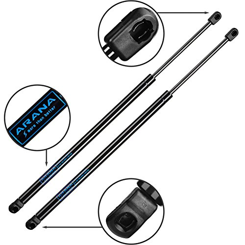 (2pcs ARANA 4370 Gas Charged Liftgate Lift Support for 2001-2012 Ford Escape | 2008-2011 Mazda Tribute | 2005-2011 Mercury Mariner)
