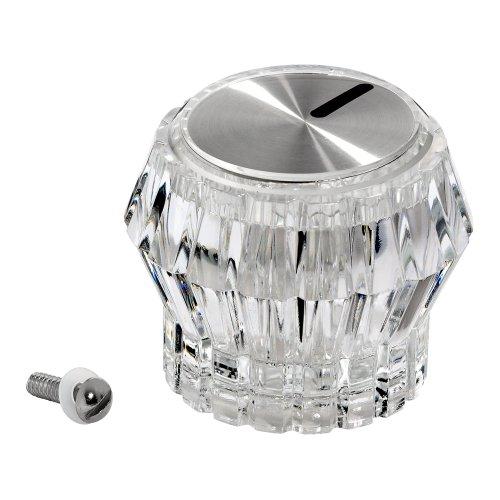 (American Standard 068614-0020A Crystalline Knob Handle, Polished Chrome )