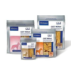 Virbac C.E.T. HEXtra Premium Oral Hygiene Chews for Dogs 13
