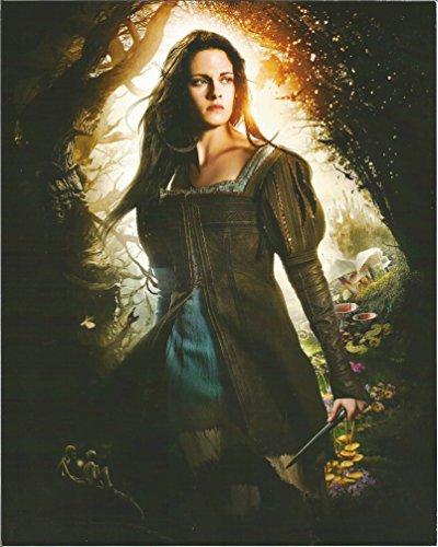 Kristen Stewart Snow White and the Huntsman in dress with dagger 8x10 inch Photo 004]()