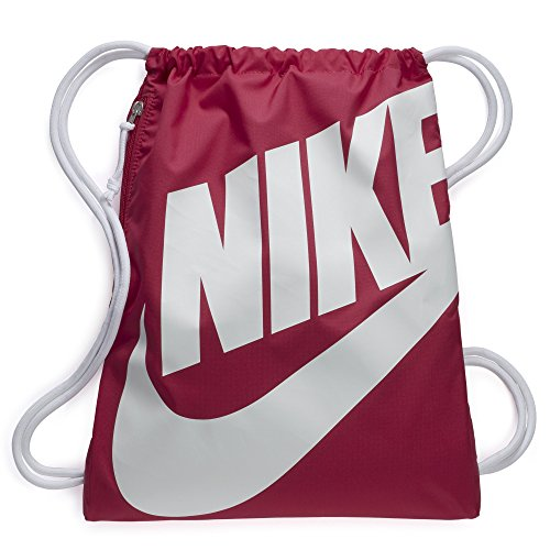 NIKE Heritage Gym Sack, Rush Pink/White/White, One Size