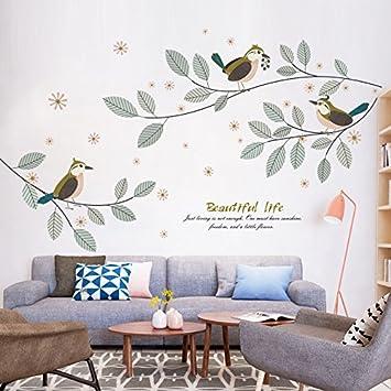 Wunderbar S.Twl.E Wandaufkleber Wandmalerei Kunst Dekor Abnehmbare Wasserdichte Sofa  Wohnzimmer TV Aufkleber Kunst