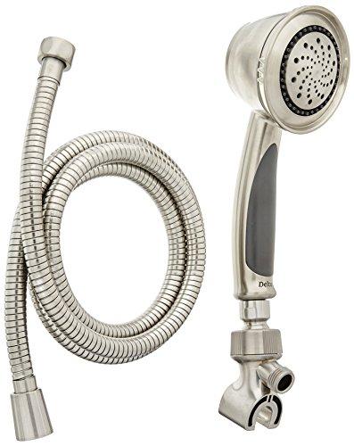 Delta Faucet 59355-SS-PK Shower Arm Mount Handshower, Stainless