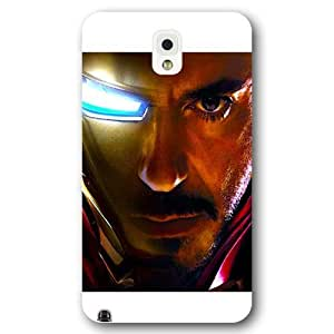 UniqueBox Customized Marvel Series Case for Samsung Galaxy Note 3, Marvel Comic Hero Ironman Samsung Galaxy Note 3 Case, Only Fit for Samsung Galaxy Note 3 (White Frosted Case)