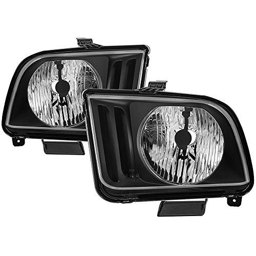 Jdragon for Ford 05-09 Mustang Black Housing Replacement for sale  Delivered anywhere in Canada