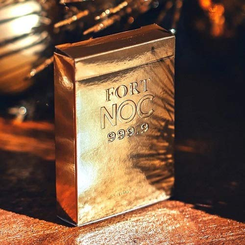 Playing Cards GOLD Fort NOC LIMITED EDITION