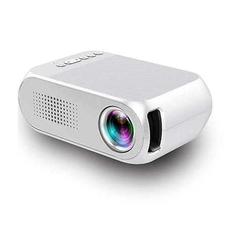 SEXTT Mini proyector, Full HD 3000 lúmenes Proyector de Video El ...