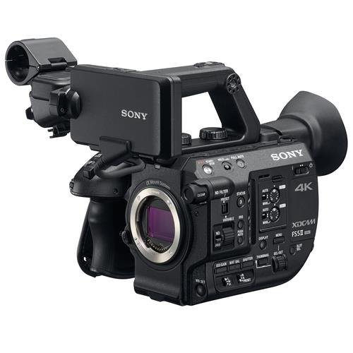 Sony PXW-FS5M2 4K XDCAM Compact Handheld Camcorder with Super 35 CMOS Sensor, Body (Sony Hd Output Adapter)